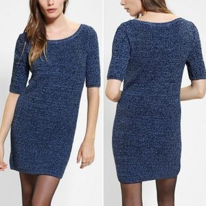 Urban Outfitters | marled blue sweater dress
